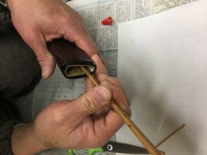 鞘と経木とお箸